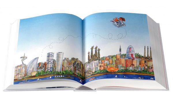 Imatge de les pàgines intteriors del llibre 'Llibre blanc. Barcelona, capital d'un nou estat'