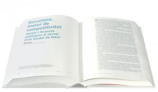 Imatge de les pàgines interiors del llibre 'Llibre blanc. Barcelona, capital d'un nou estat'