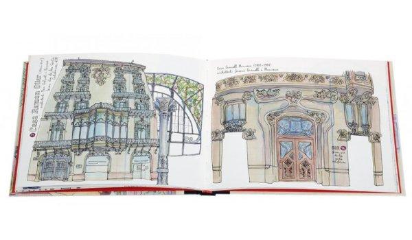 Pàgines interiors del llibre 'Modernisme beyond Gaudí'