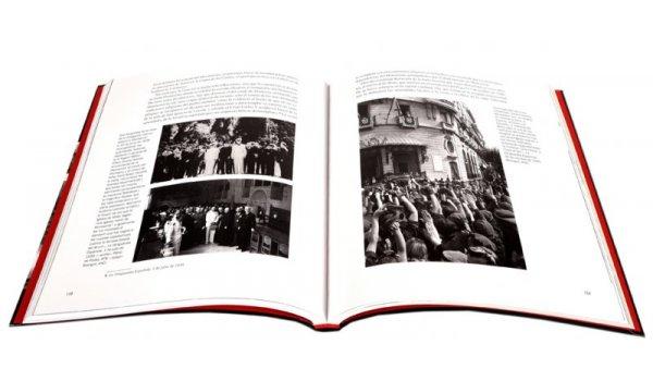 Imatge de les pàgines interiors del llibre 'Nazis en Barcelona'