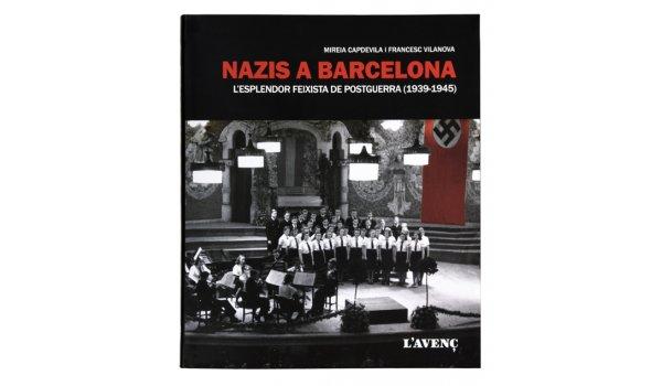 coberta del llibre 'Nazis a Barcelona'