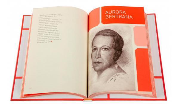Imatge de les pàgines interiors del llibre 'Barcelona amb nom de dona'