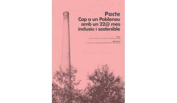 Imatge de la coberta del llibre 'Cap a un Poblenou amb un 22@ més inclusiu i sostenible'