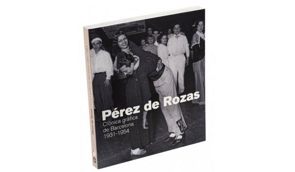 Imatge de la coberta del llibre 'Pérez de Rozas. Crònica gràfica de Barcelona 1931-1954' on es veu una parella jove enmig d'un ball