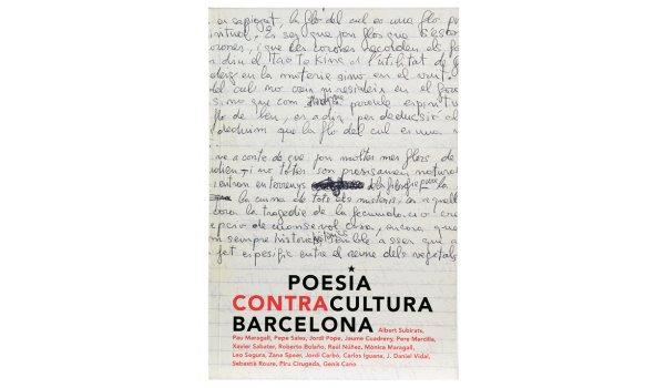 Imatge de la coberta del llibre 'Poesia Contracultura Barcelona'