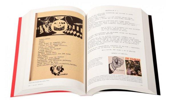 Imatge de les pàgines interiors del llibre 'Poesia Contracultura Barcelona'