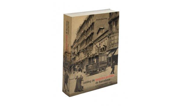 Coberta 'Catàleg de targetes postals de Barcelona'