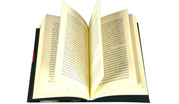 Imatge de les pàgines interiors del llibre 'La primavera pendent'
