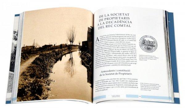 Imatge de les pàgines interiors del llibre 'El Rec Comtal'