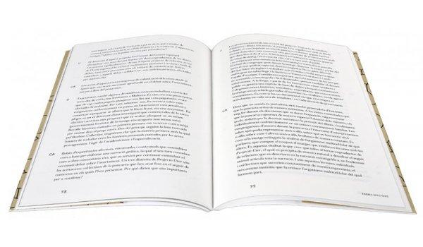 Imatge de les pàgines interiors del llibre 'Recomposicions maquíniques'