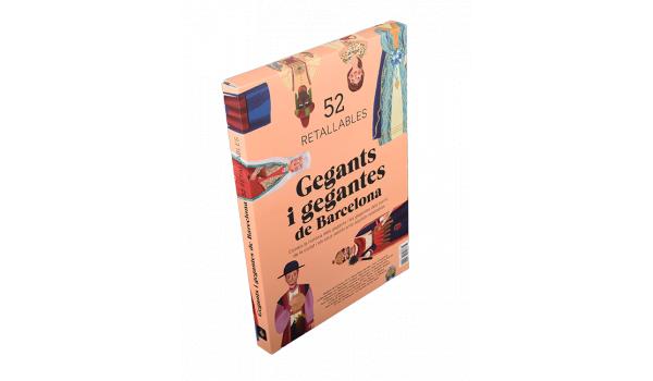 Imatge de la coberta del llibre 'Retallables dels gegants i gegantes de Barcelona'