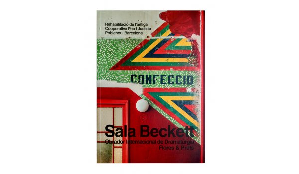 Imatge de la coberta del llibre 'Sala Beckett' (català)