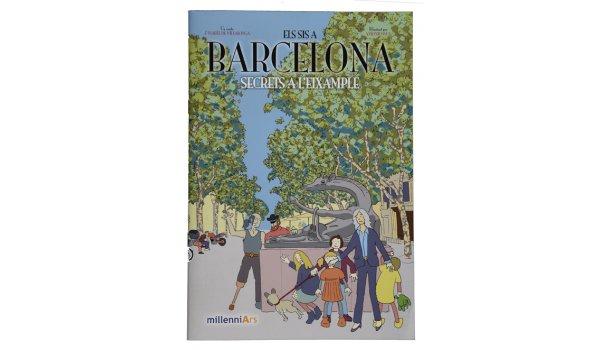 Imatge de la coberta del llibre 'Els sis a Barcelona. Secrets a l'Eixample'