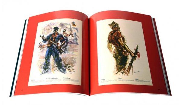 Imatge de les pàgines interiors del llibre 'SIM. El dibuixant de la revolució'