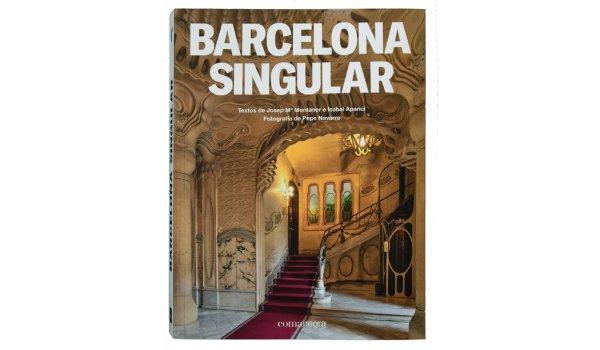 Imatge de la coberta del llibre 'Barcelona Singular'