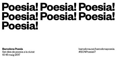 Barcelona Poesia 2017