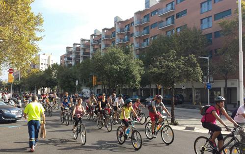 Foment de la bicicleta - Participació