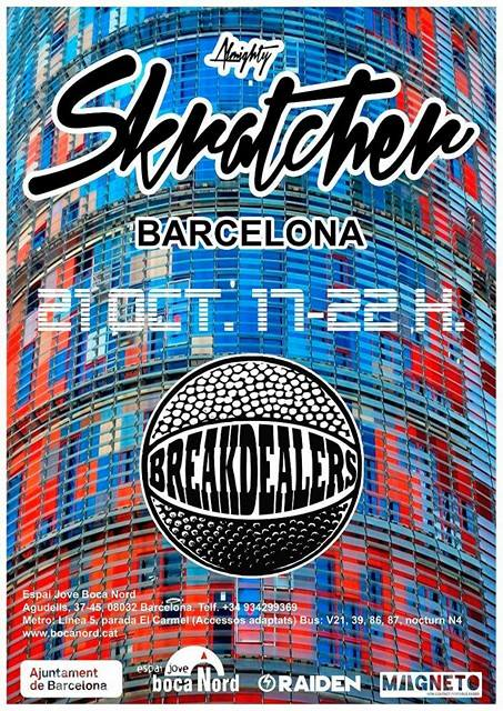 Skratcher BCN oct2017
