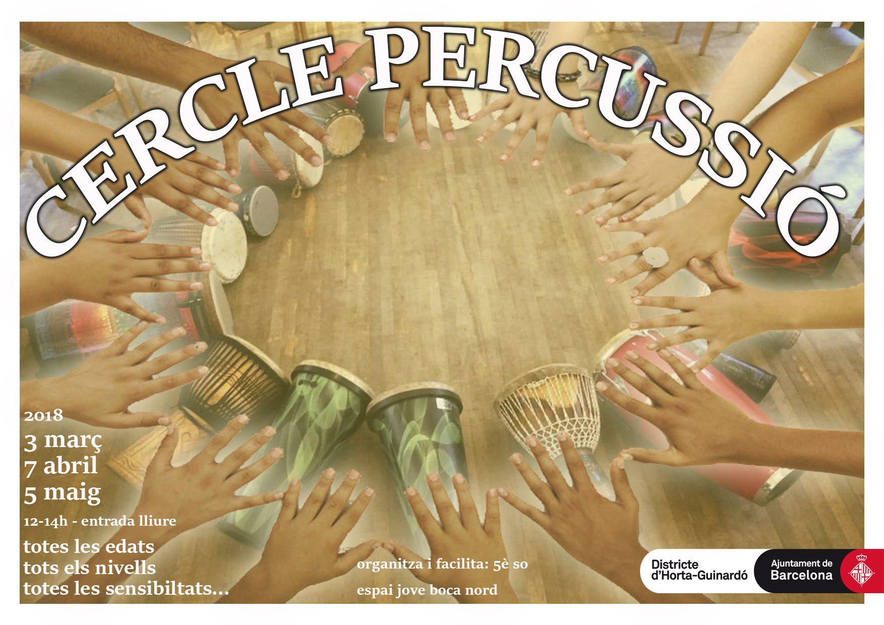cercle percussio cartell 2018