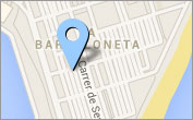 Localització de la Casa de la Barceloneta