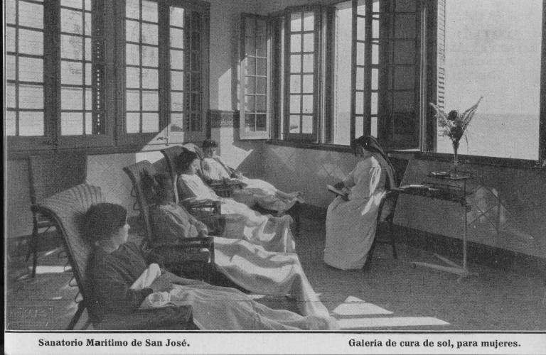 """Sanatorio Marítimo de San José"""