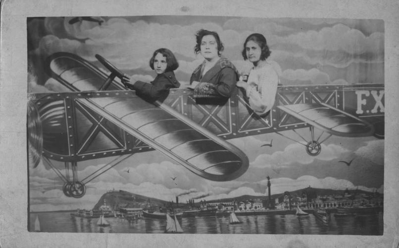 Les tres aviadores