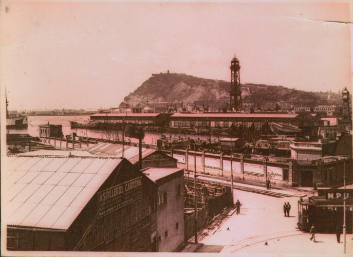 Indústria i magatzems del port