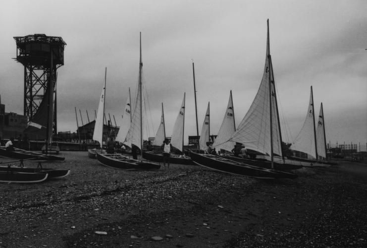 Prova nàutica de patins de vela