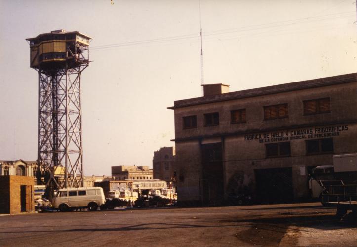 Torre del telefèric de Sant Sebastià i magatzems