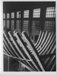 Vaixell de fusta en construcció