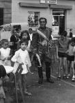 El general Lagarto amb els nens