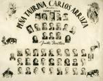 Orla de la penya taurina Carlos Arruza