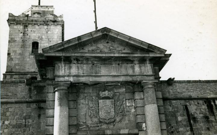 El Castell l'any 1954 ©AFB