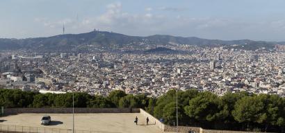 View of the city towards Tibidabo