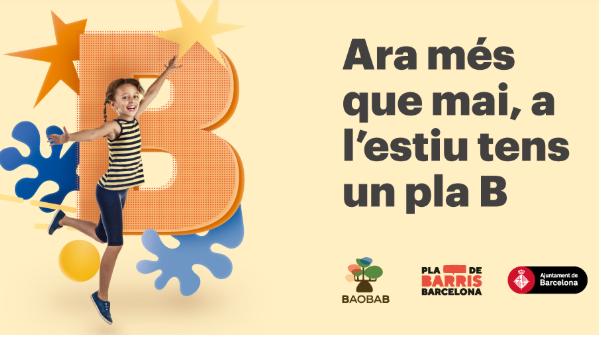 Casal urbà Baobab a Sant Genís dels Agudells. | Centre Cívic Casa Groga | Ajuntament de Barcelona