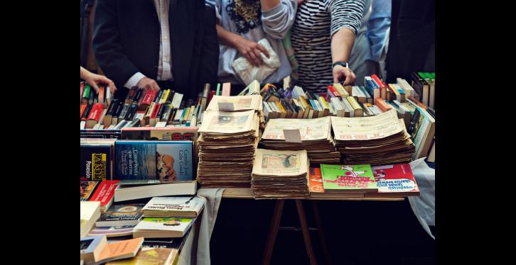 Llibreries de vell-Llibres parada