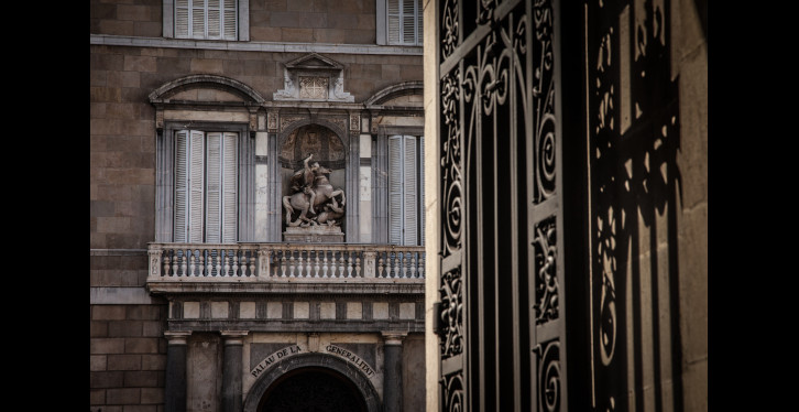 St Jordis a BCN. Generalitat - ©Jordi Oliver