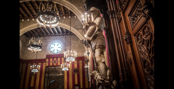 St Jordis a BCN. Saló de Cent - ©Jordi Oliver