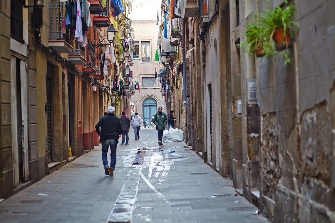 El Barrio Actual Del Raval Ciutat Vella