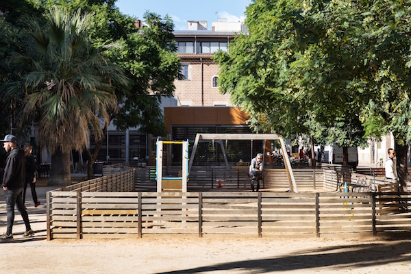 Parc al barri de Sant Pere, Santa Caterina i la Ribera