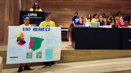 Campus Ítaca amb alumnat de 3r d'ESO del Raval