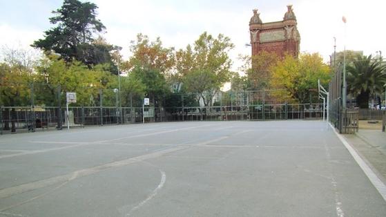 Patio de la escuela Pere Vila