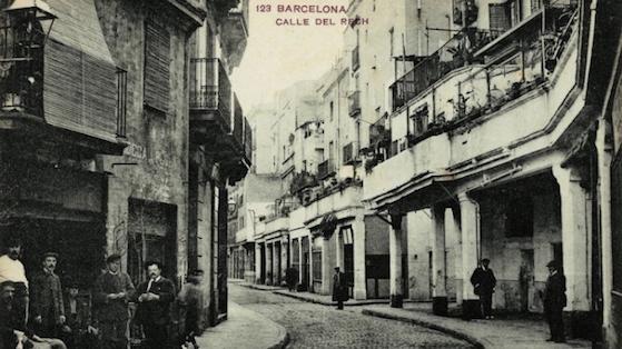 Barrio de Sant Pere antiguo