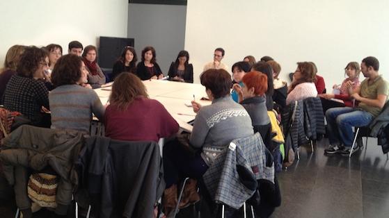Reunió plenaria del projecte amb representants de tots els centres que participen