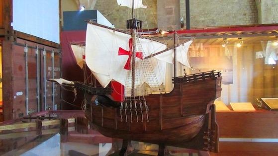 Maqueta de vaixell; Museu Marítim de Barcelona