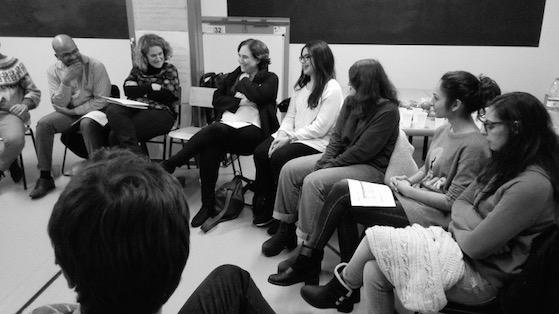 L'Alcaldessa de Barcelona, Ada Colau, coneix personalment alumnes universitaris del Raval del projecte Prometeus.