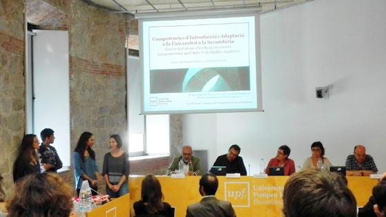 Competències d'introducció a la Universitat amb alumnes de Batxillerat, una proposta de la Universitat Pompeu Fabra