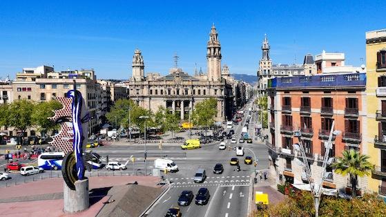 Vista panoràmica de Ciutat Vella