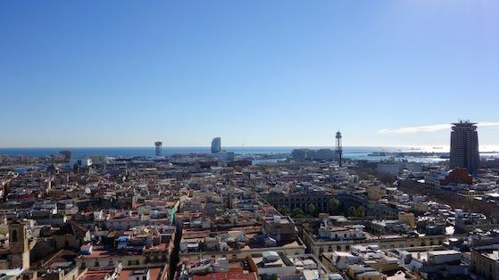 Vista panorámica de Ciutat Vella