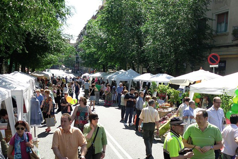 Street fairs and markets are always a great place to buy local products.